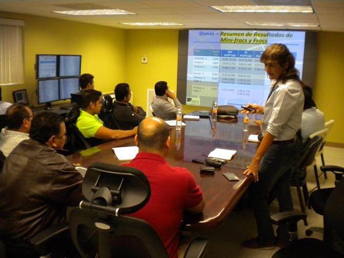 Marisela Nagel training - OilField Geomechanics